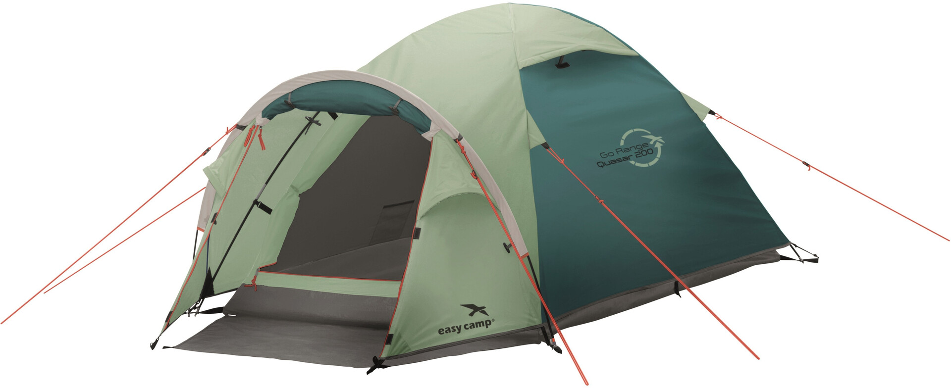 Easy Camp Quasar 200 Tent turquoise | Gode tilbud hos